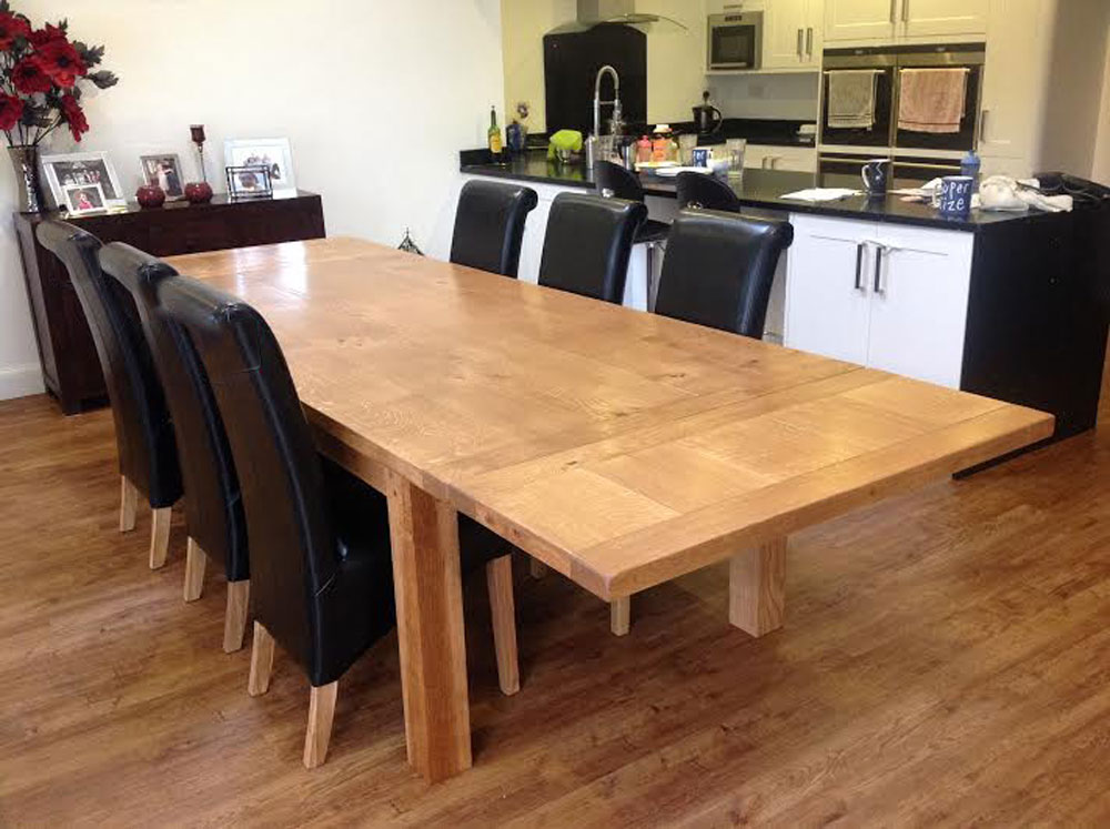 Handmade Extending Dining Table