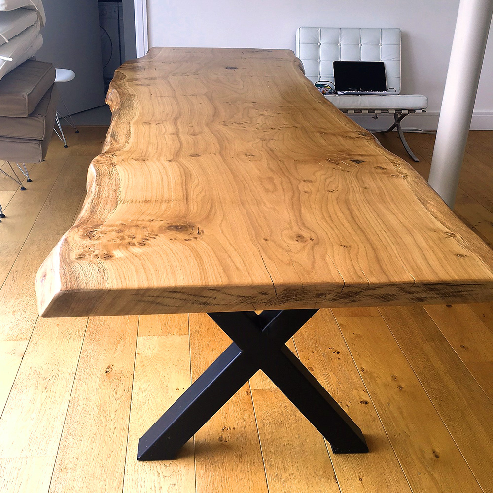 Handmade Live Edge Slab Table Top