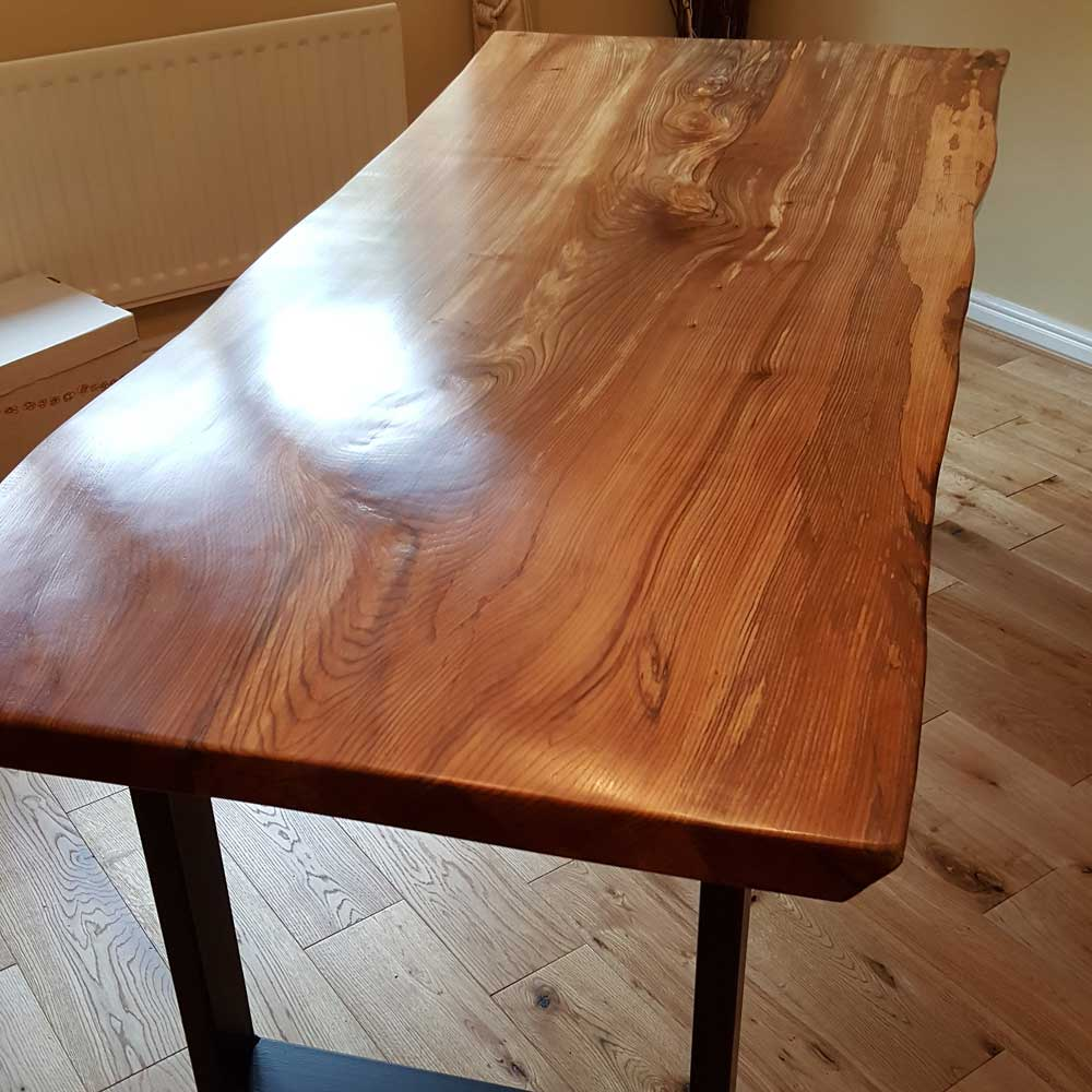 Bespoke Waney Edge Slab Table Top