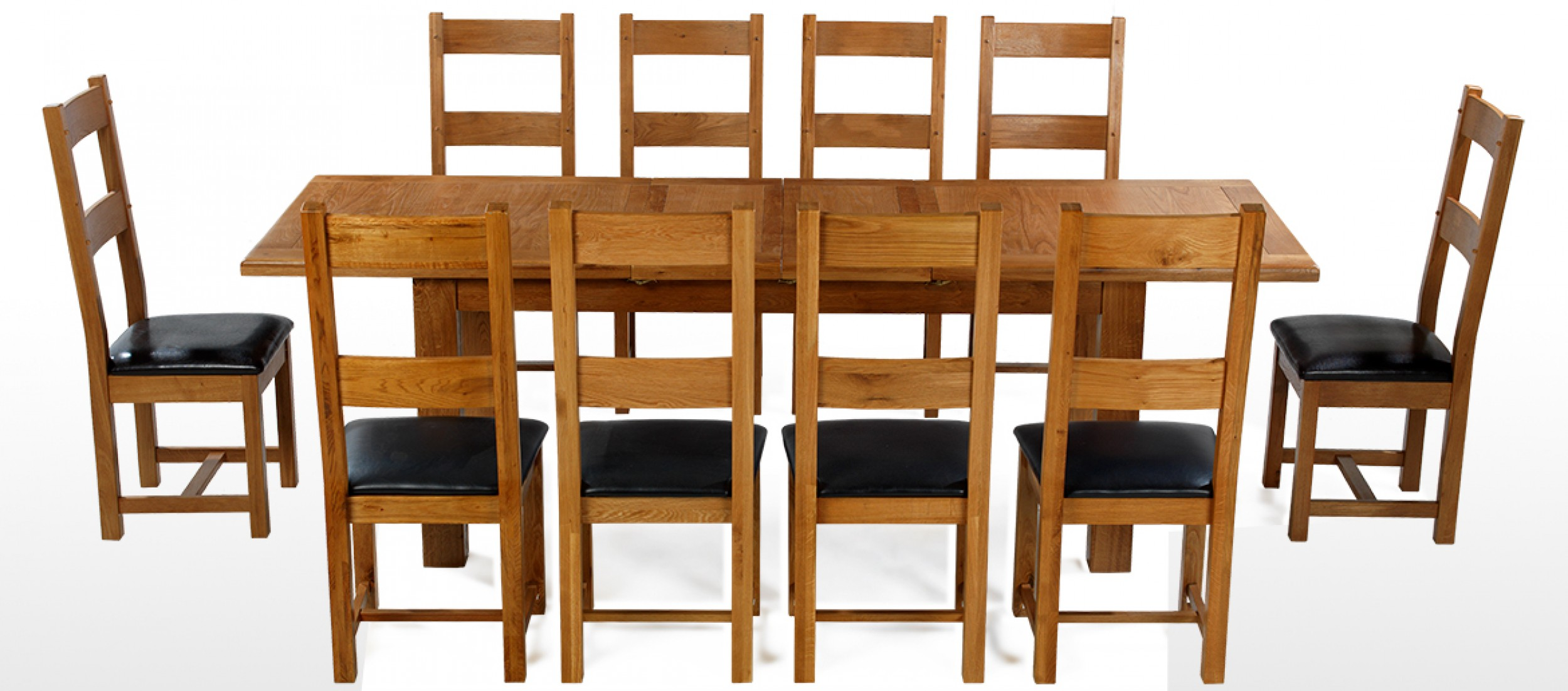 10 chair dining table set wedding covers hire cheshire barham oak 180 250 cm extending and chairs