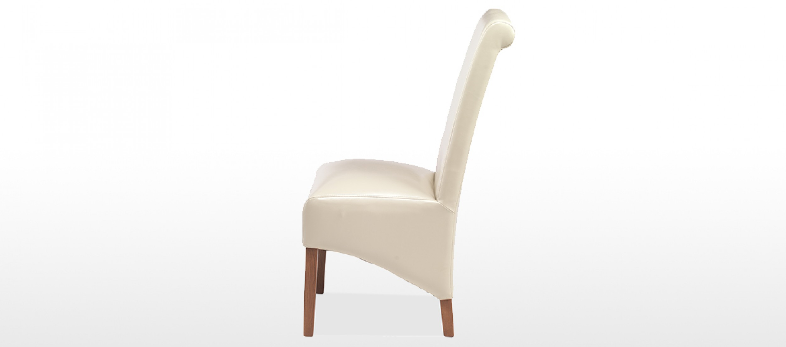 beige leather dining chairs shower for handicapped cube bonded pair quercus