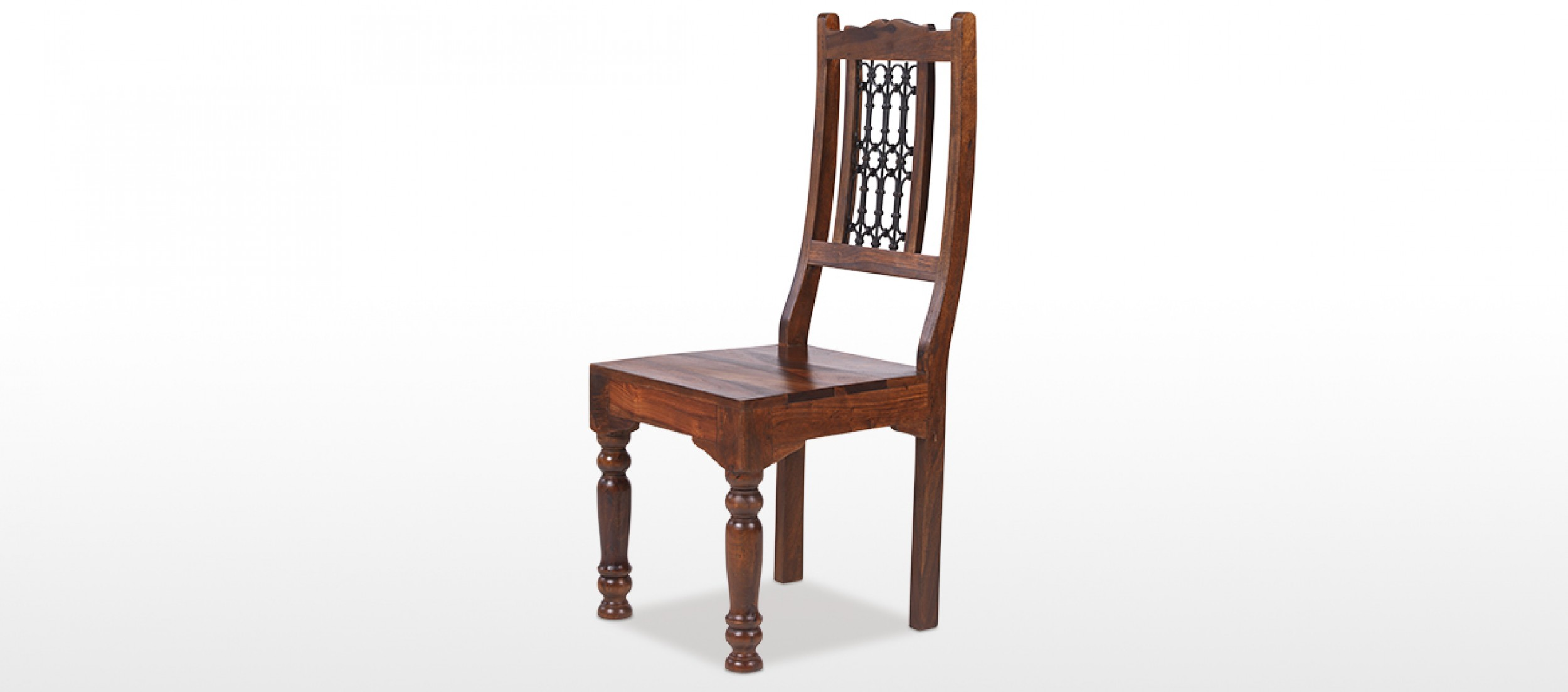chair design back angle hanging in living room jali sheesham low ironwork dining chairs pair