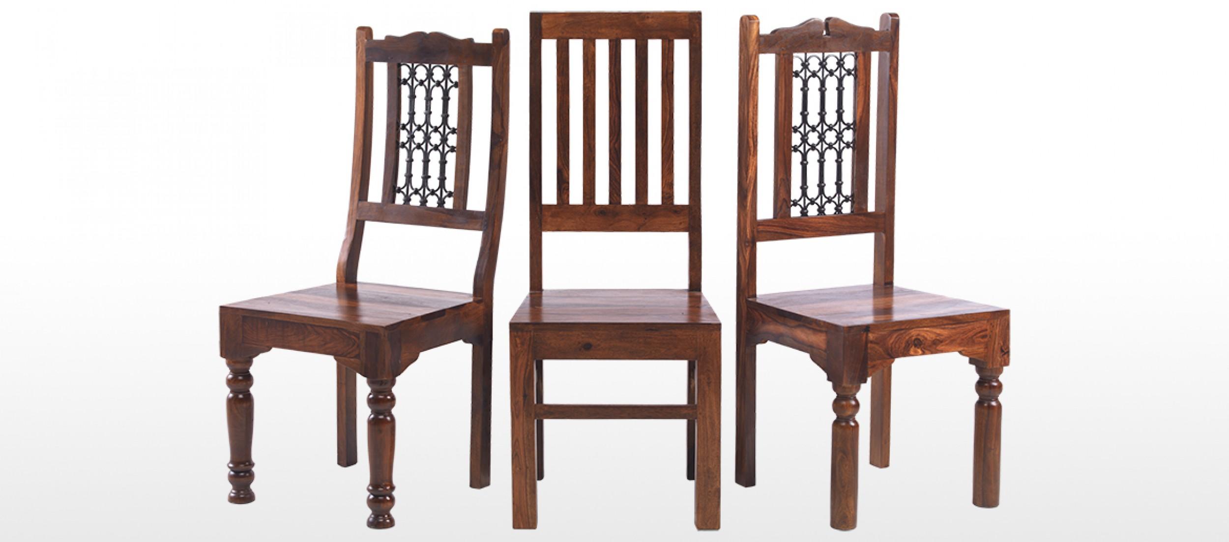 low back dining chairs pink desk chair uk jali sheesham ironwork pair