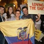 Ecuatorianos en encuentro Terra Madre