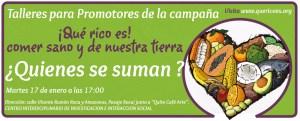 """""""TALLER PARA PROMOTORES DE LA CAMPAÑA QUE RICO ES"""", EN LA FUNDACIÓN CIIIS @ Fundación """"Centro Interdiciplinario de Investigación e Interacción Social"""" – CIIIS"""