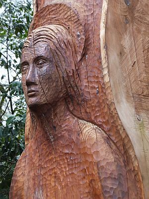 Sculpture at Shepherds Dene