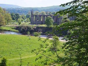 Priory and River Wharfe