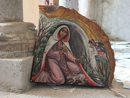 Modern Icon, St Melangell