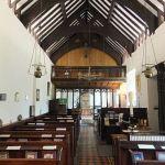 St Melangell church interior