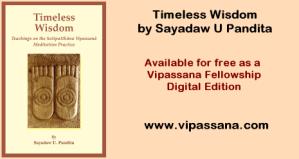 Sayadaw U Pandita's book