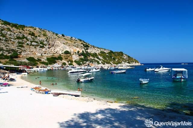 Praias de Zakynthos: Navagio Beach, Makris Gialos, Xigia etc