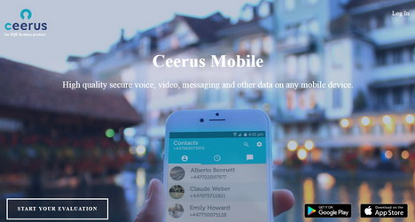 ceerus-secure-messaging-app