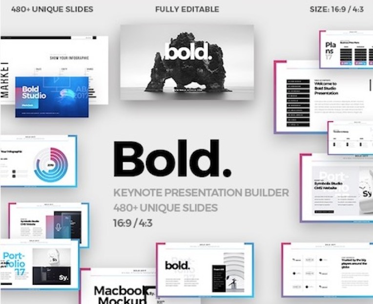 bold-minim-keynote-template