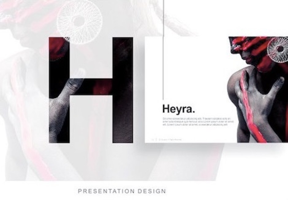 heyra-powerpoint-template