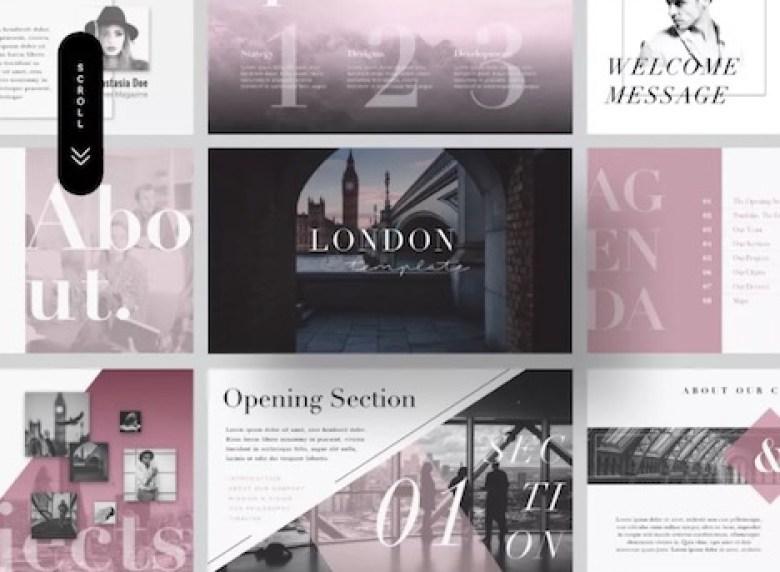 london-free-presentation-template