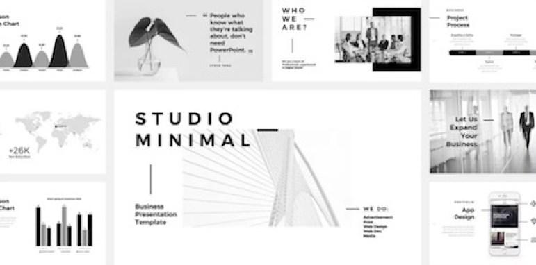 studio-minimal-template