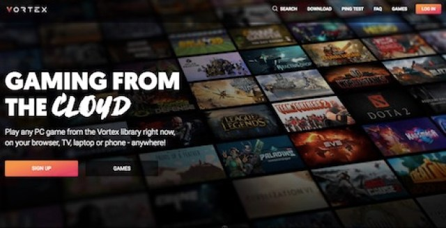 vortex-cloud-gaming-service