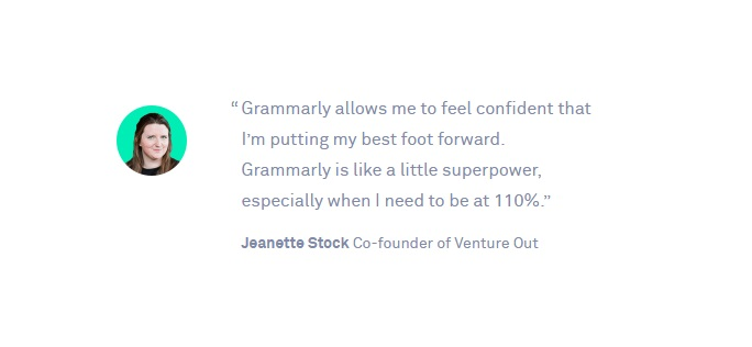 "Improve English Grammar With ""Grammarly"", For email"