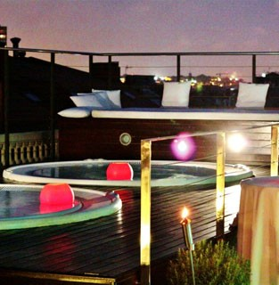 hotel terrace experience