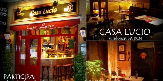 Gana una cena en el restaurante casa lucio de barcelona - Lucio barcelona decoracion ...