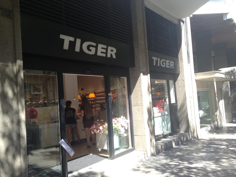 TIENDAS TIGER EN BARCELONA
