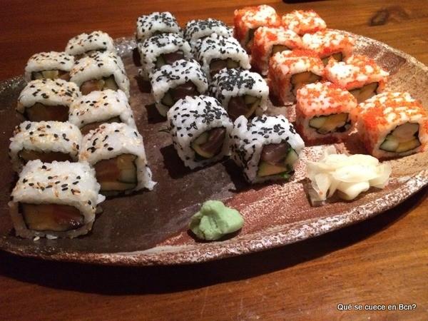 Kynoto Sushi Bar Restaurante Japones Barcelona que se cuece en Bcn (20)