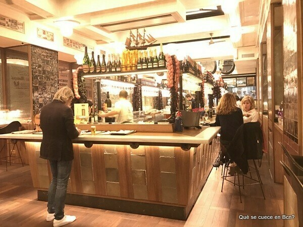 Restaurante puerto chico la nueva barra del boca grande for Restaurante puerto rico madrid