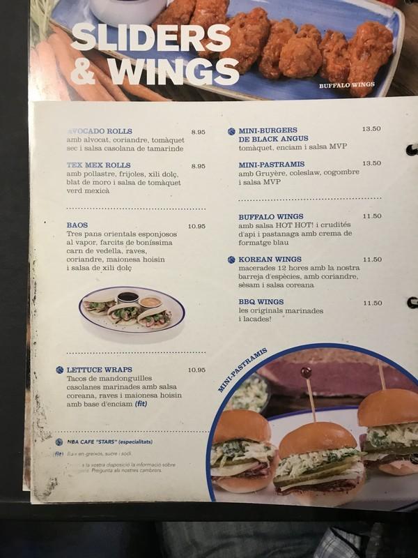 NBA Cafe restaurante que se cuece en bcn planes barcelona (50)