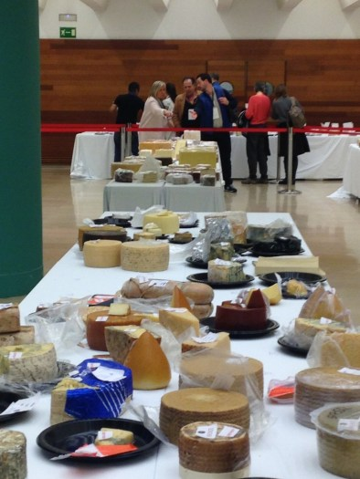 mesas de quesos en los World Cheese Awards