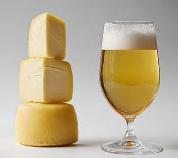 cerveza queso