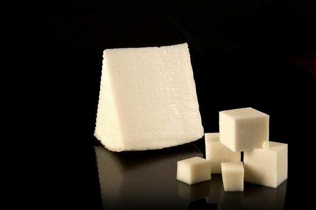 Queso elaborado con leche cruda