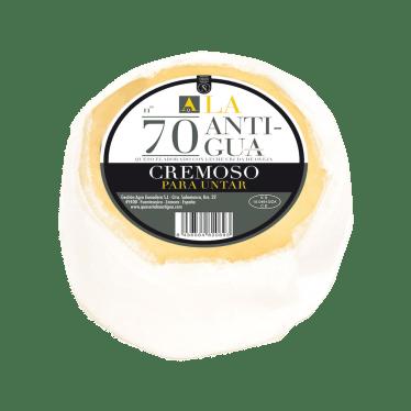 Queso cremoso torta La Antigua