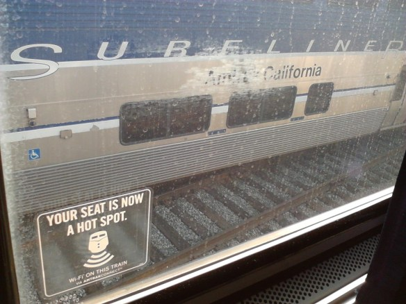 Surfing the Web from the Surfliner