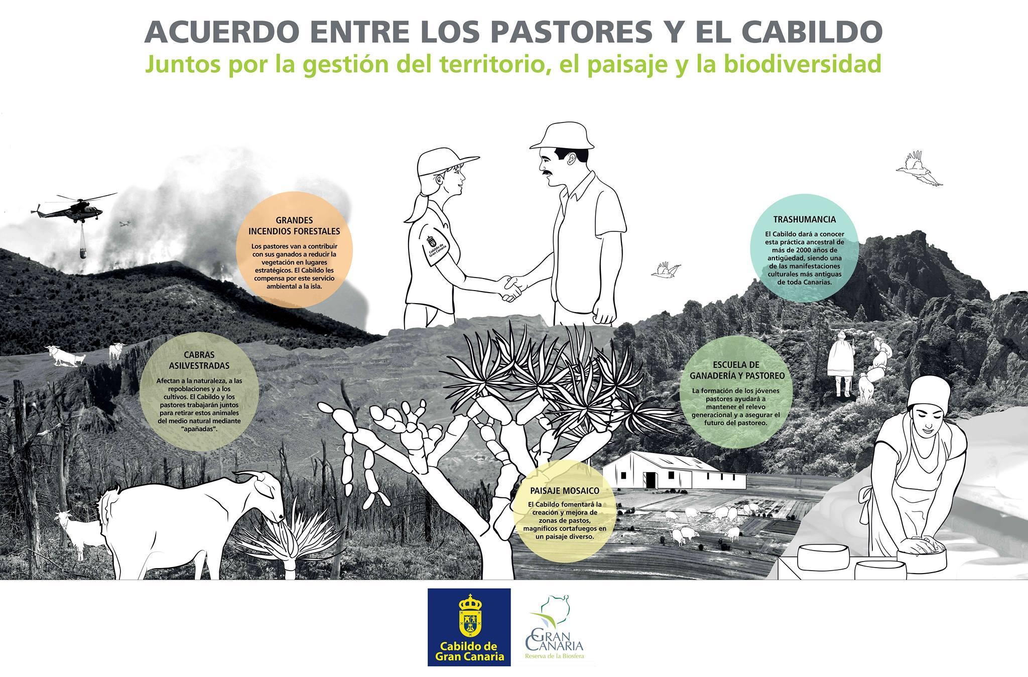 Acuerdo entre los pastores y el Cabildo