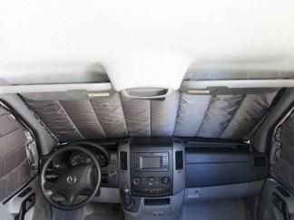 Sprinter van window covers for cabin