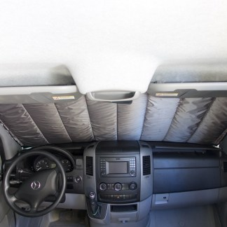 Sprinter van windshield shade