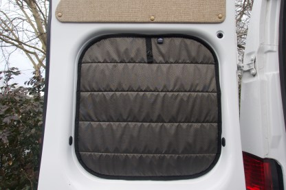 Promaster insulated covers for rear doors