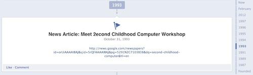 Questeq Facebook Timeline