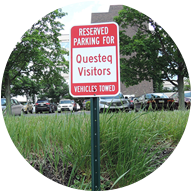 Questeq Parking Sign