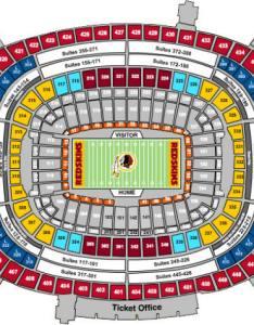 Fedex field seating chart also nfl football stadiums washington redskins stadium fedexfield rh questfor