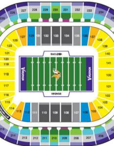 Mall of america field at the hhh metrodome stadium seating chart also nfl football stadiums minnesota vikings rh questfor