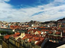 Lisbon, Portugal where I live-ish.