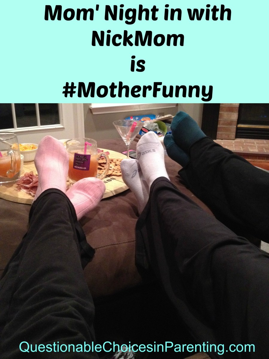 Moms' Night in with NickMom is #MotherFunny