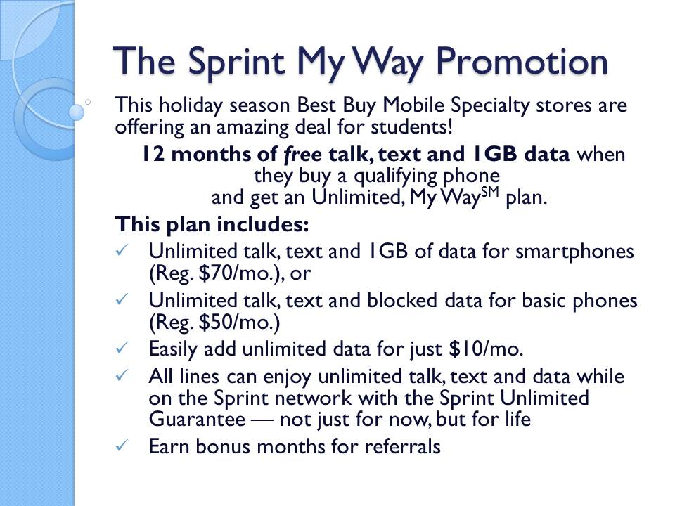Amazing Deals on Student Mobile Plans From The Best Buy Mobile Specialty Store