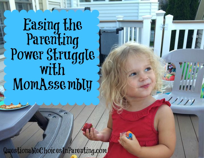 Easing the Parenting Power Struggle with MomAssembly