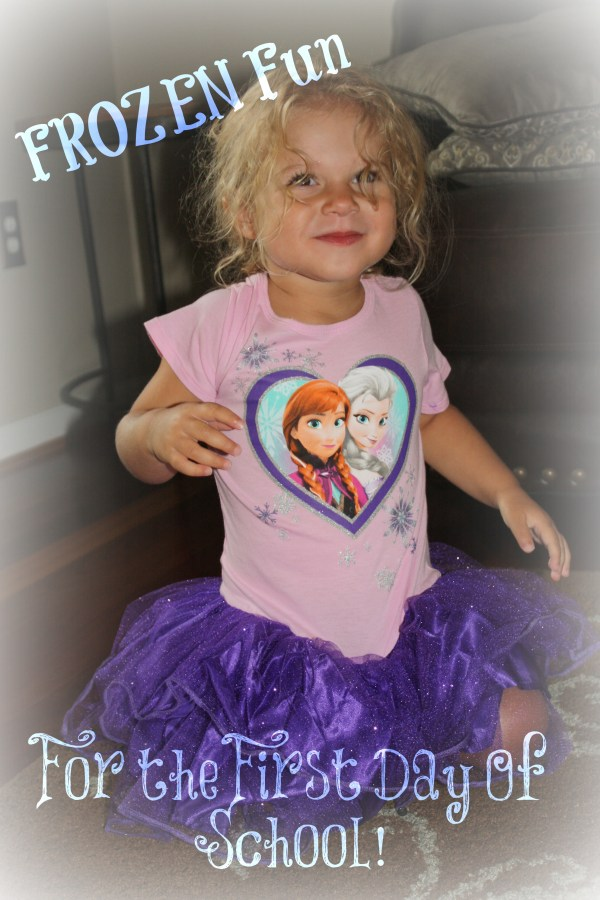 Frozen Fun for the First Day of School #FROZENFUN #Shop