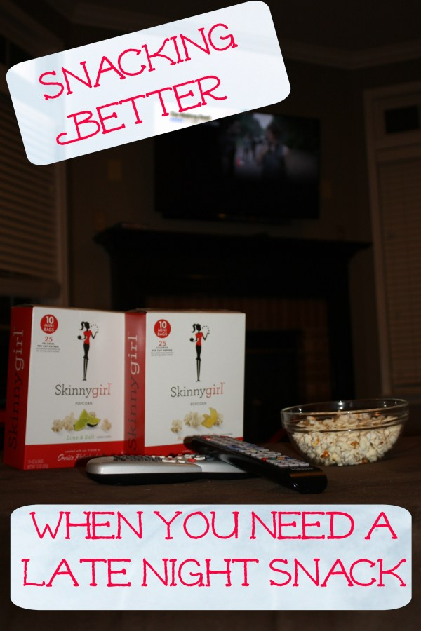 Snacking Better When You Need a Late Night Snack #SkinnyGirlSnacks #shop
