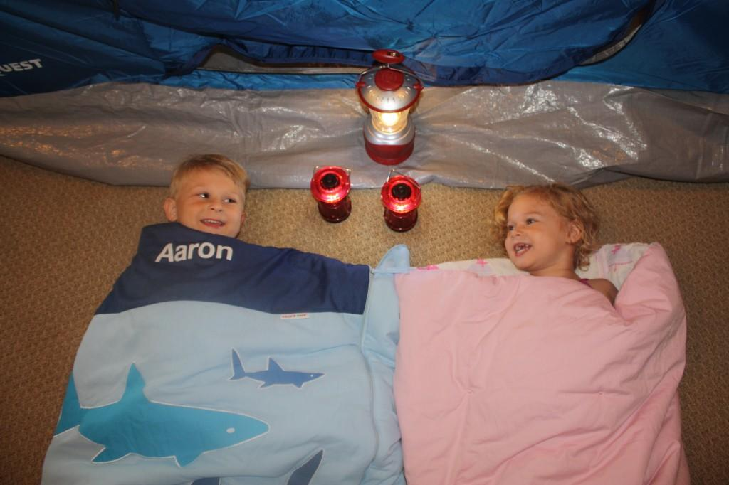 Camping with kids Life Hacks