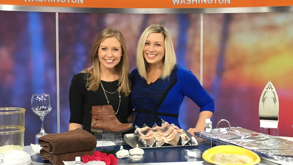 Coffee Filter and Aluminium Foil Hacks on Good Morning Washington