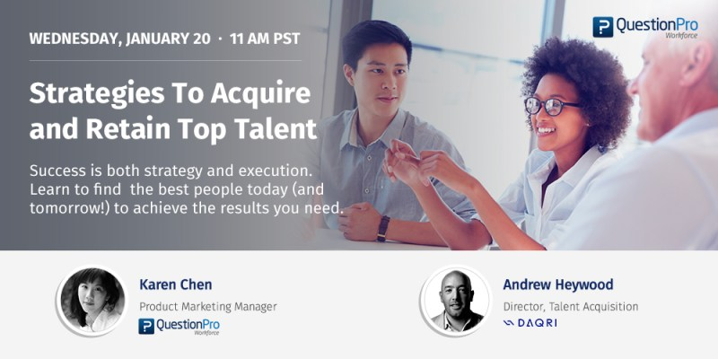 Strategies to acquire and retain top talent